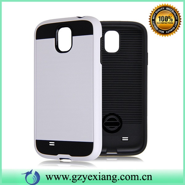 Hot Selling PC TPU Hybrid Armor Rugged Case For Samsung Galaxy S4