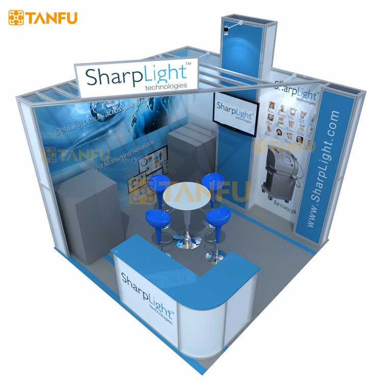 TANFU Exhibition Trade Show Booth 10x10