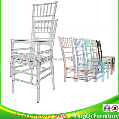 Wedding Rental Clear Plastic Tiffany Chiavari <strong>Chair</strong> for Sale