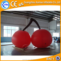 Advertising replica of inflatable fruit model, inflatable cherry