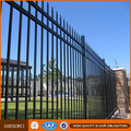 Black galvanized cheap wrought iron fence panels for sale