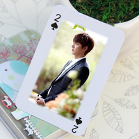 Advertising Poker Type Playing Cards,Paper Material Playing Cards ,Custom Game Card Printing