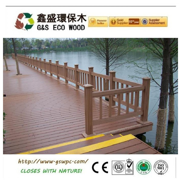 2014 new HOT SALE! wpc waterproof outdoor fence railing