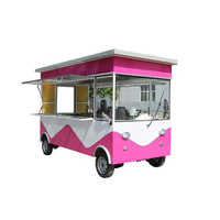 Low price food truck for fried ice cream for hot summer