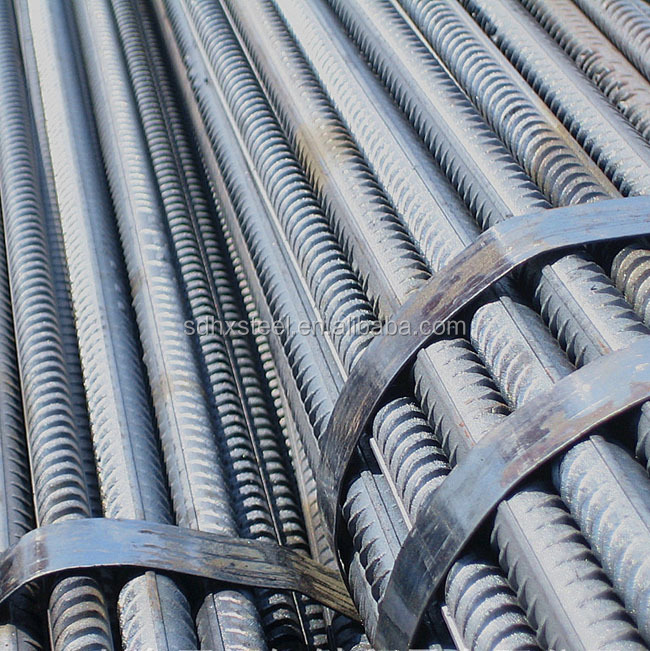 Carbon Steel ASTM A615 BS4449 B500B Deformed Steel Rebars