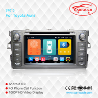 Android 6.0 toyota auris 2 din 7 inch car dvd player for toyota auris 2007 touch screen car radio for toyota auris