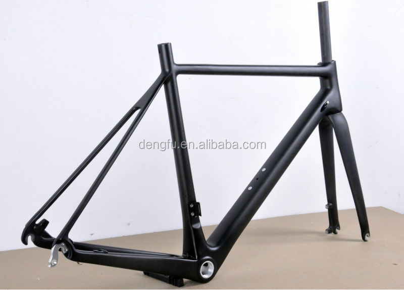 Super light road frame , carbon aero frame, T700 Carbon road bicycle frameset fm166 with disc brake