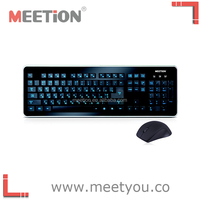 Meetion newly-launched 2.4G wireless computer keyboard and mouse