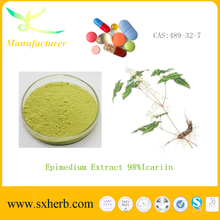 Chinese supplier Supply epimedium powder and capsule