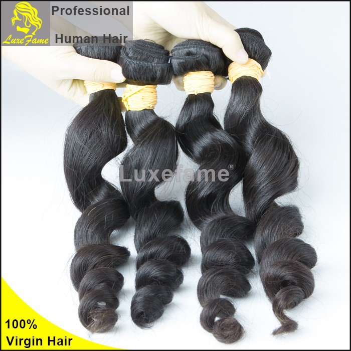 Luxefame Brand Wholesale Hair Raw Indian Hair Distributors,100% Natural Indian Human Hair Price List