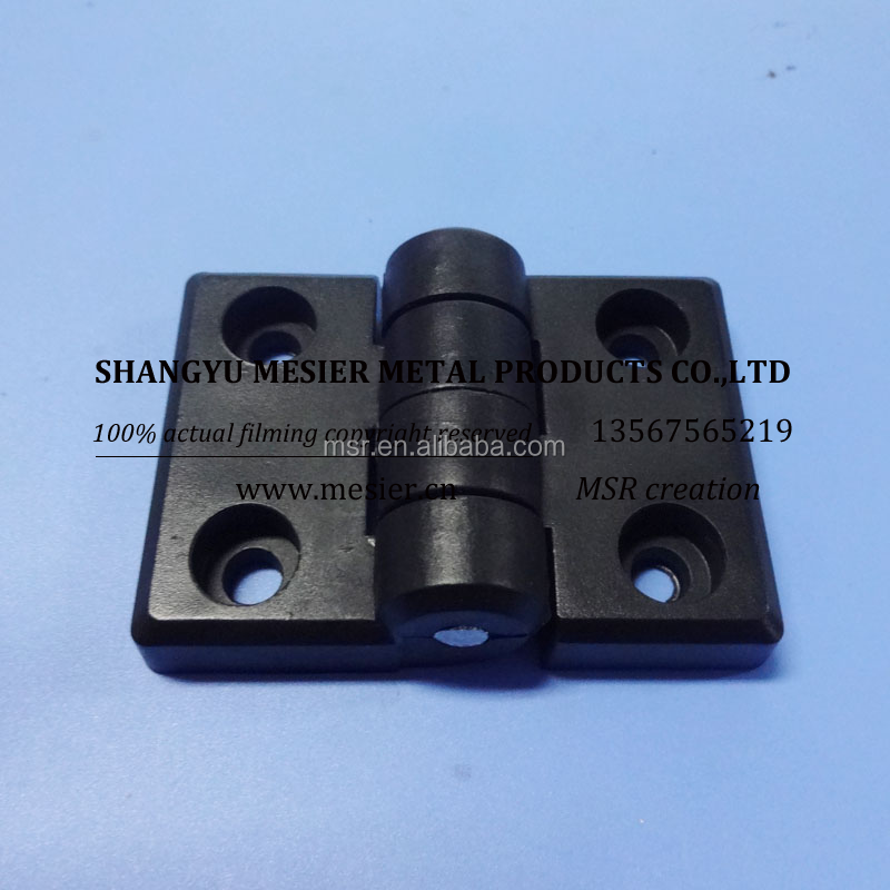 20A rubber hinges black door hinges Cheap plastic customized nylon hinge