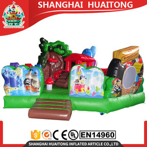 New design inflatable bouncer house castle