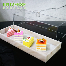 UNIVERSE custom donut macaron food ice cream cone cookie chocolate candy bread acrylic cake display <strong>shelf</strong>