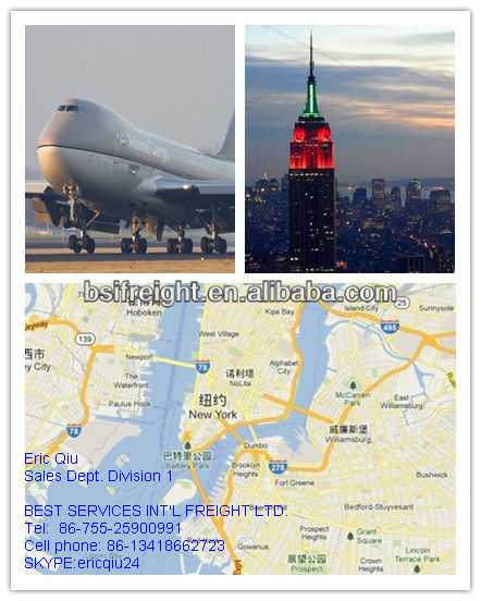 Air Shipping Service To Miami USA from Shenzhen/Guangzhou/Hongkong/Shanghai
