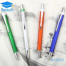 Colorful Aluminum Ball Promotional USD Pen in Retractable Mechanism
