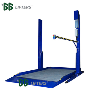Hydraulic 2 Post Auto Lift Car Parking Lift Suppliers 3 ton