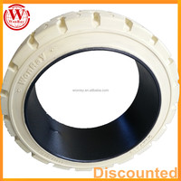 Press On Solid Rubber Tyre 22x12x16 For Paper Roll Special Forklift