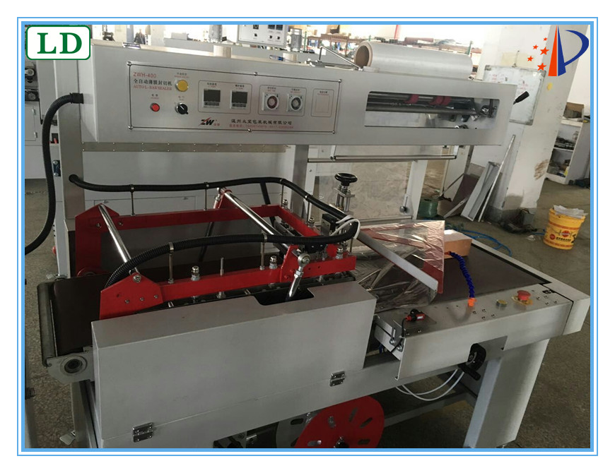 new products heat band shrink packaging machine for mobile box/books/cosmetic