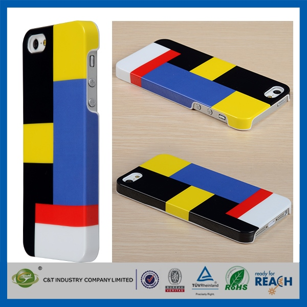 Fashion and Simple Design for iphone 5c front and back cover