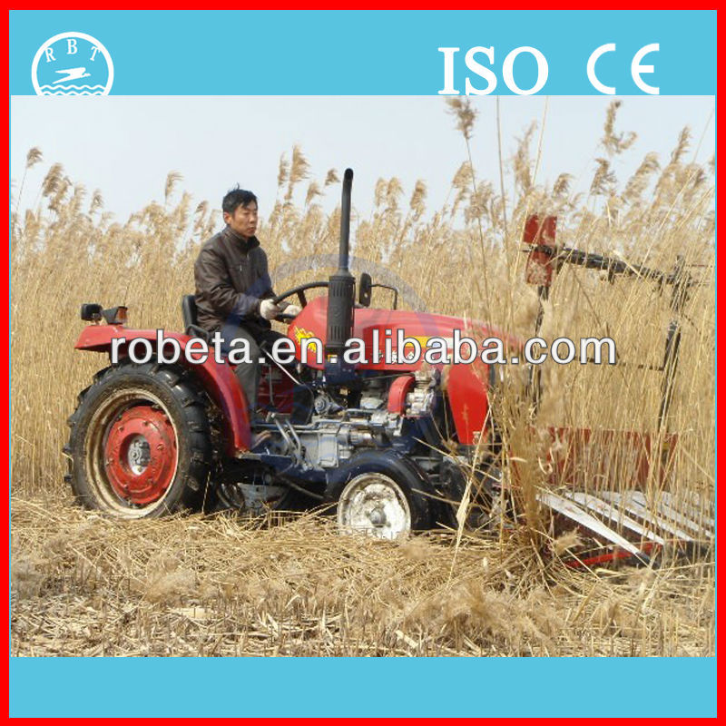 flexible operation small paddy reaper machine/crop cutting machine harvester machine