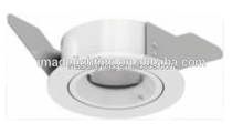 Fixed Mouting Ring hole size 60mm with 6w 9w Recessed LED COB Downlight