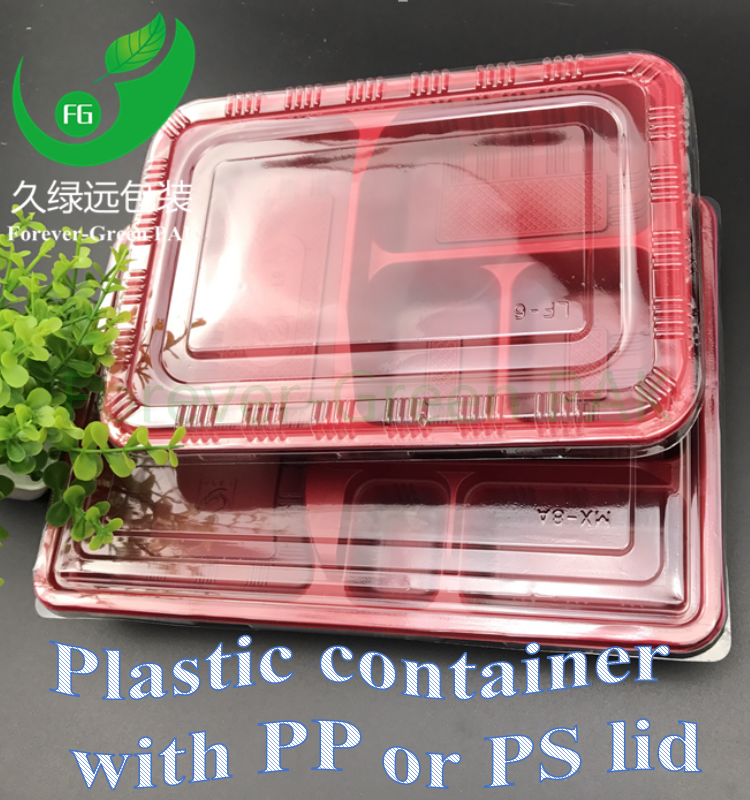 PP Disposable salad container,fruit salad container