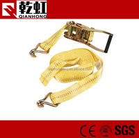 wholesale 50mm polyester galvanized tie strap with hook
