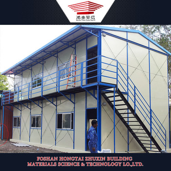 Economic prefab house steel construction house for south africa