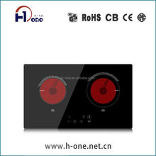 Touch Control Electric Built-In Ceramic Cooker Hob and stove