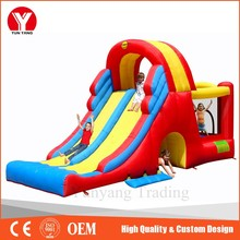Inflatable Castle, inflatable dry slip and slide