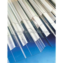 New construction building material /plastic raw materials roofing sheet prices /corrugated polycarbonate sheet