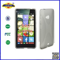 Soft TPU Gel Back Case for Nokia Lumia 540