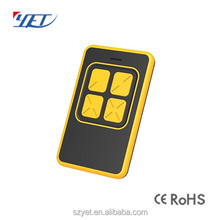 High quality 433mhz wireless rf programmable keeloq multi-channel rf remote control