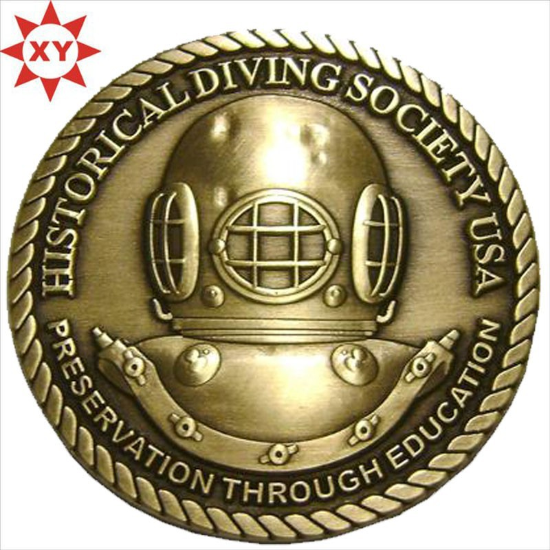 high quality custom technic soft enamel metal challenge coin