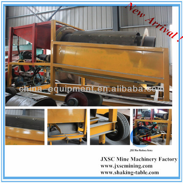 clay gold separation machine, mobile gold trommel for sale from China manufacturers