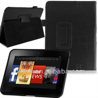 "PU Leather Flip Smart Case Cover Stand for Amazon Kindle Fire HD 7"" Inch Tablet"