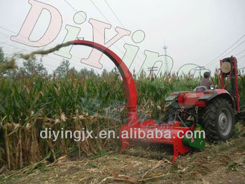 wholesale cheap price corn silage harvester 3-7mu/h