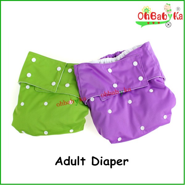 ohbabyka baby products washable and adjustable offer OEM&ODM factory price adult baby girls in diapers