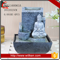 2017 New Arrival Handmade Polyresin Buddha Water Fountain
