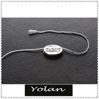 Custom High Quality garment string seal tag