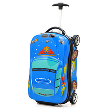 Luggage Trolley Bags Cute PC Kids Travel Luggage Bags