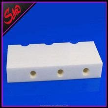 Zirconia Alumina Ceramic Tongs Block Stock Locater with Thread <strong>Hole</strong>