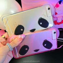 lovely panda case for iphone6s, silicone case shaped animal for iphone6s ,wholesale TPU panda case