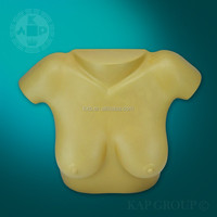Plastic high quality women plump breasts model,artificial breast model for sex