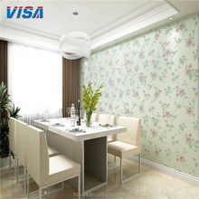 New design hand made home hotel decoration 3d wallpaper wholesale