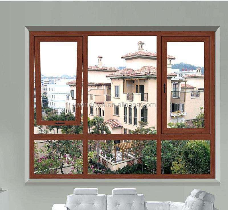Casement Windows Use For Toilet Windows Decorative Exterior Shutters Industrial Aluminum Profile