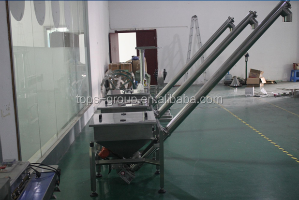 high speed SS304 powder sprial feeder