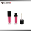 plastic two layers empty lip gloss container with lipstick shape inner tube