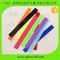 20*200mm wholesale colored reusable hook loop wire band