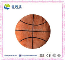 Large Super Soft Basketball Shaped Plush Pillow